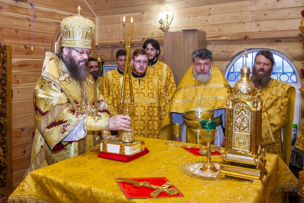В Тамбовской области освятили новый храм в честь Казанской иконы Божией Матери