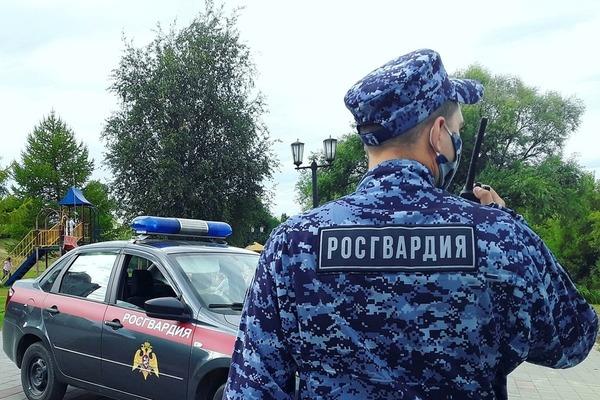 В Тамбовской области росгвардейцы задержали нетрезвого правонарушителя