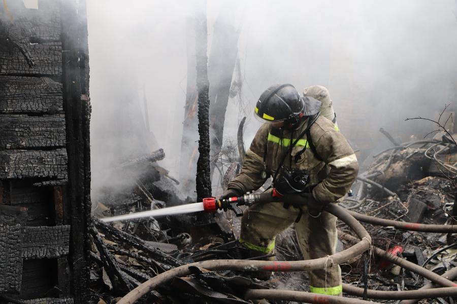 В Тамбовской области за неделю произошло 59 пожаров: один человек погиб