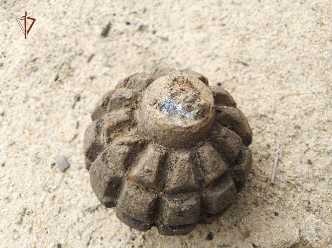 В Тамбовском районе обнаружили боеприпас времён Первой мировой войны
