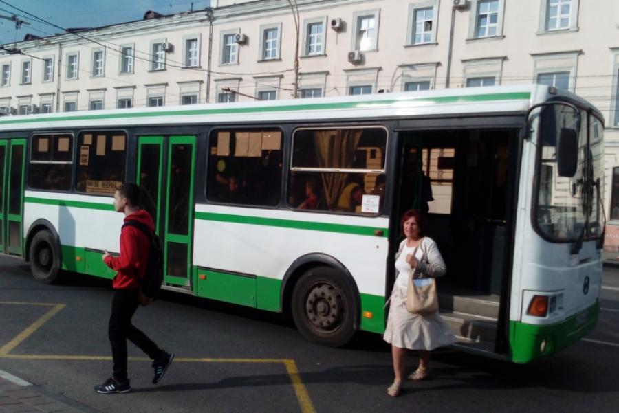 В Тамбовском районе водитель высадил ребенка из автобуса