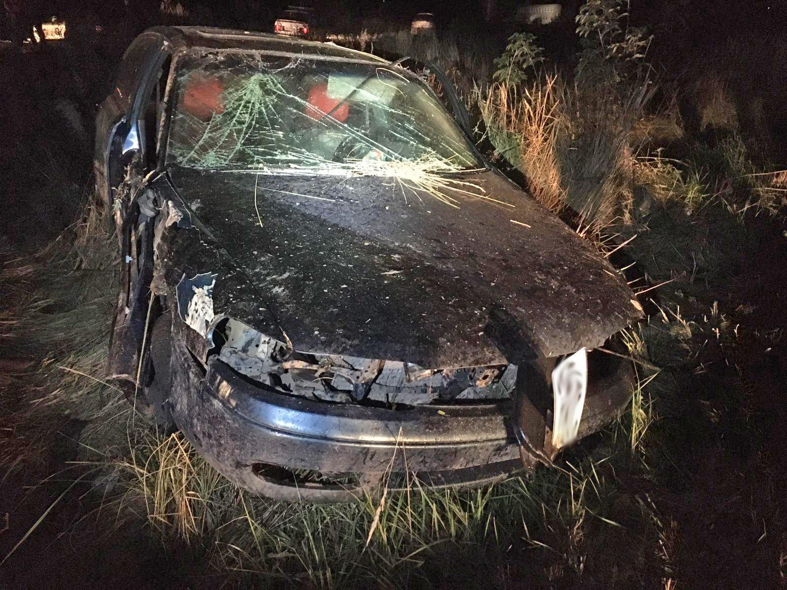 В Токарёвке иномарка перевернулась в кювет: один человек погиб