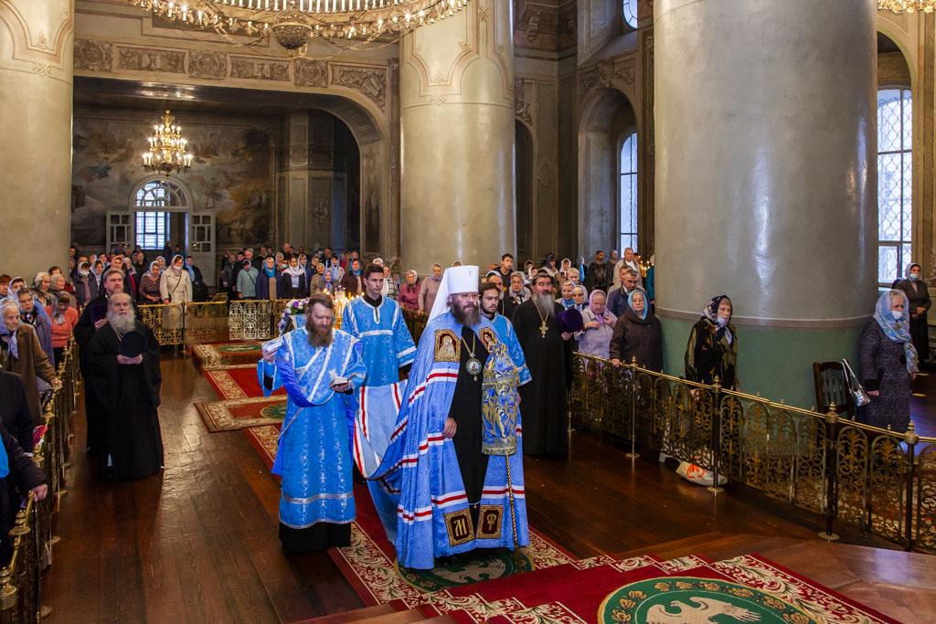 Верующие тамбовчане отметили Рождество Пресвятой Богородицы