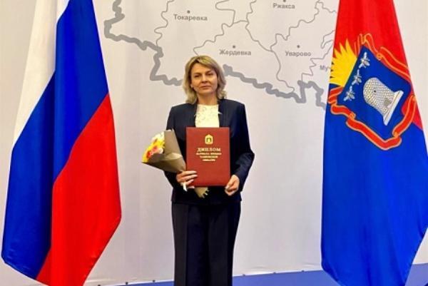 Врач областной детской больницы стала лауреатом премии имени Войно-Ясенецкого