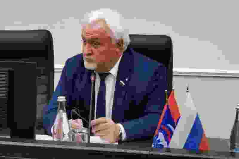 Евгений Матушкин вновь избран председателем Тамбовской областной Думы
