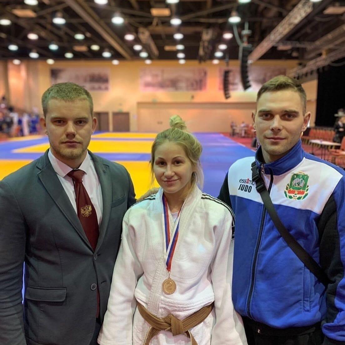 На Первенстве ЦФО по дзюдо тамбовчанка завоевала серебряную медаль