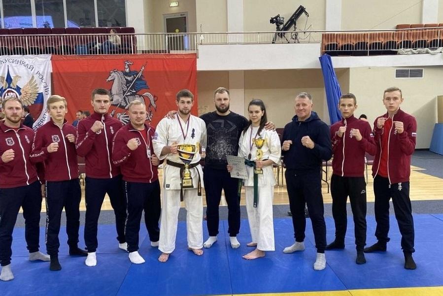 Тамбовчане стали призёрами всероссийских соревнований по киокусинкай
