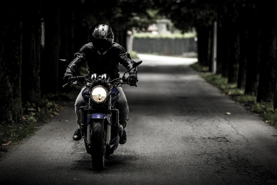 Тамбовские полицейские задержали пьяного мотоциклиста