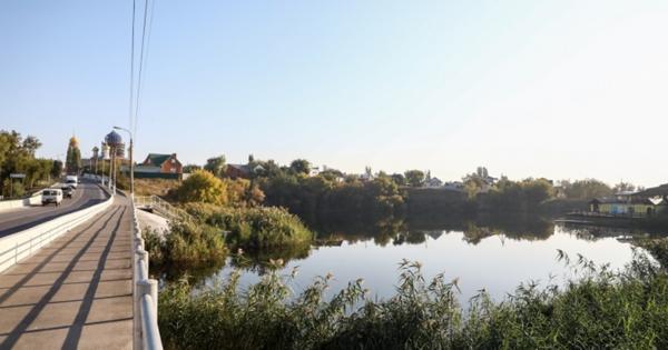 ВДаниловском районе обновили понтонный мост через реку Медведицу