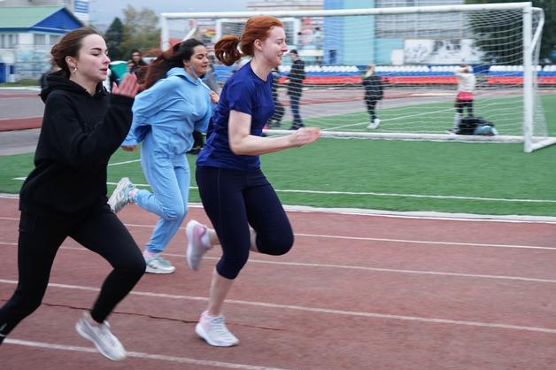 В Державинском университете прошли соревнования по лёгкой атлетике