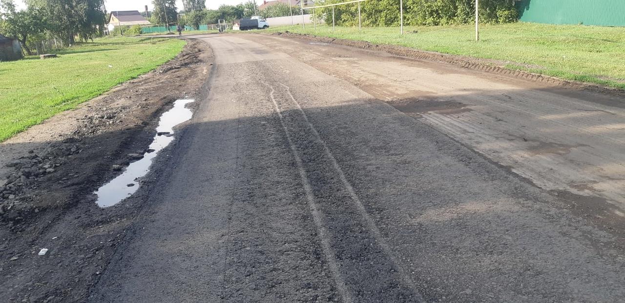 В Мичуринском районе выявлен ряд нарушений при ремонте дорог