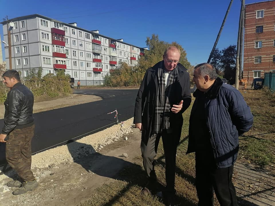 В Рассказово завершают ремонт дорог в микрорайоне Арженка