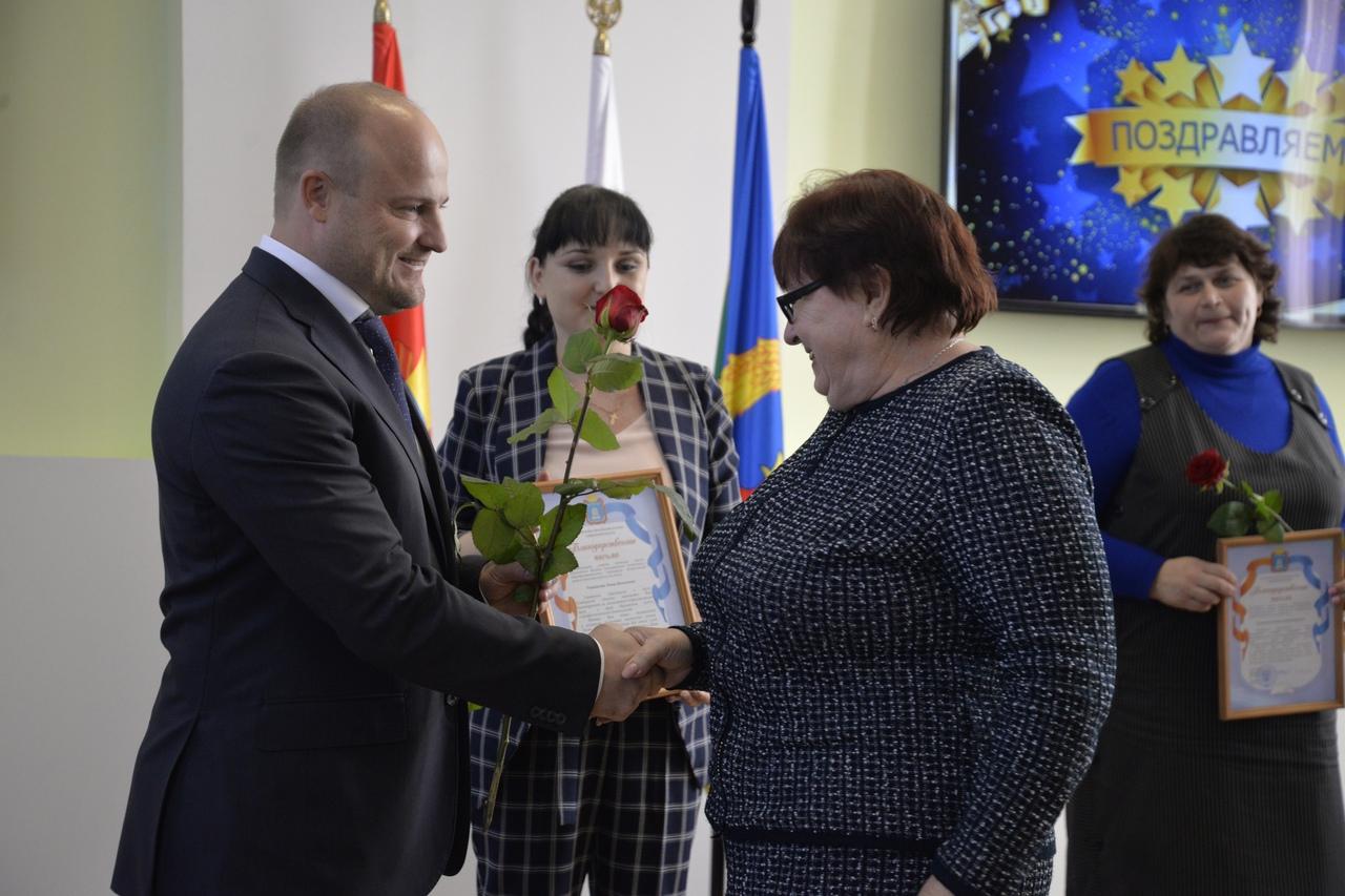 В Рассказовском районе чествовали лучших педагогов