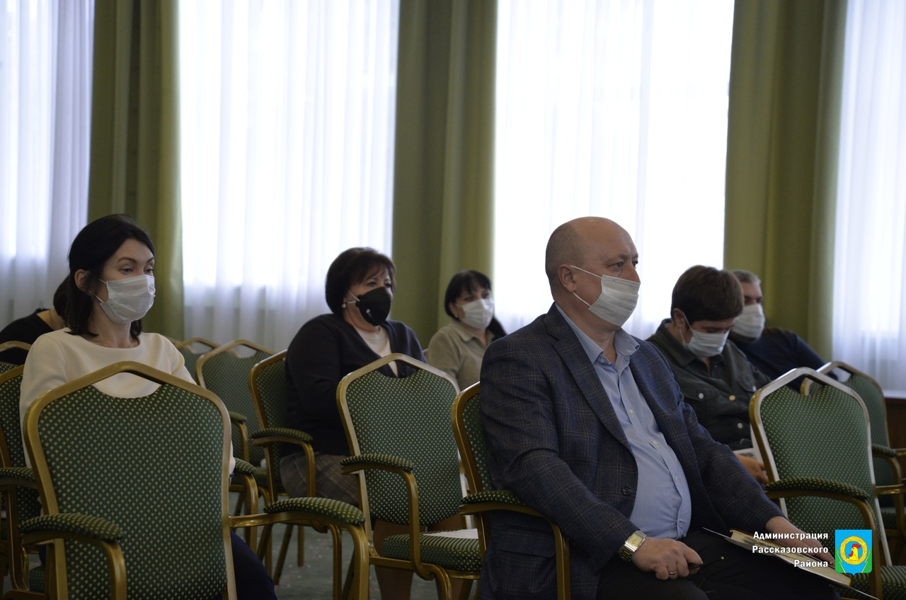 В Рассказовском районе обсудили ход реализации нацпроектов