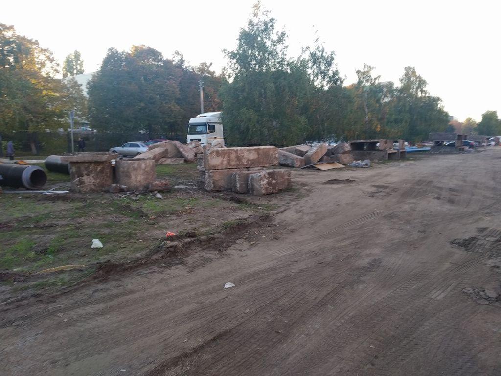 В Тамбове не могут определиться со сроком благоустройства после замены теплосетей на Рылеева