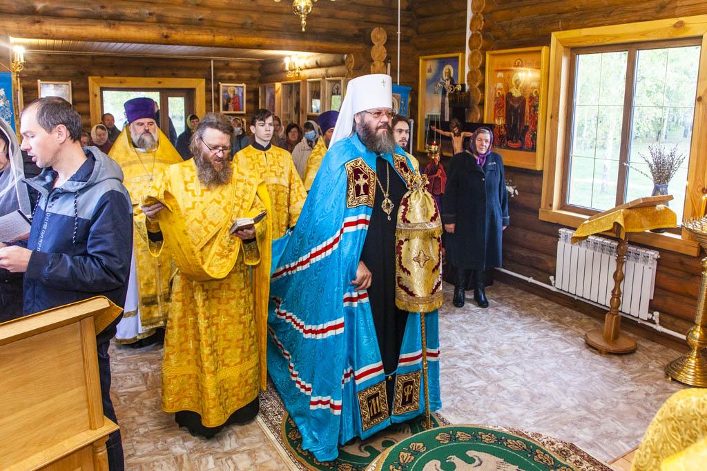 В Тамбовской области освятили новый храм в честь Рождества Пресвятой Богородицы