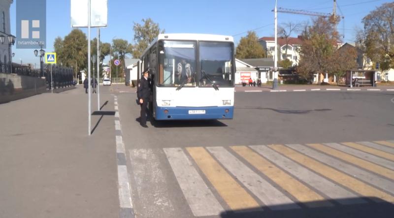 В Тамбовской области в ходе рейда «Автобус» оштрафовали более 500 водителей