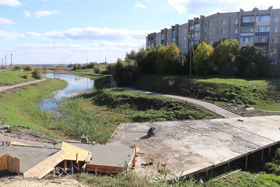 В Тамбовской области завершают благоустройство дворов и общественных территорий